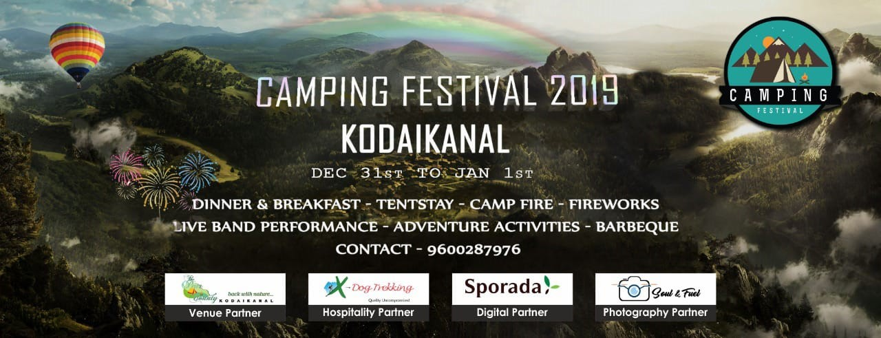 Camping Festival New Year 2019